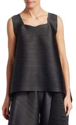 Pleats Please Issey Miyake Sail Bounce Top