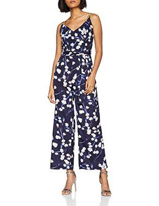 e3b23fbf1f50 Yumi Women s Jumpsuit Relaxed Floral Sleeveless Jumpsuit