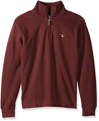 Gant Men's The Sacker Ribbed Half Zip