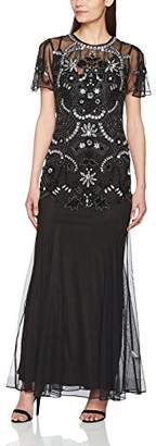 Arianne Frock and Frill Women's Embellished Maxi Dress,8