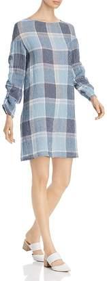 SNIDER Côte d'Azur Textured Plaid Dress