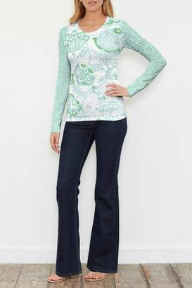 Namaste Whimsy Rose Green Thermal