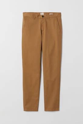 H&M Cotton chinos Skinny fit - Beige