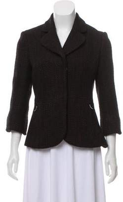 Tuleh Wool Tweed Blazer