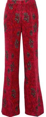 Derek Lam Brocade Flared Pants