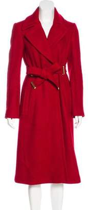 Diane von Furstenberg Wool Long Coat