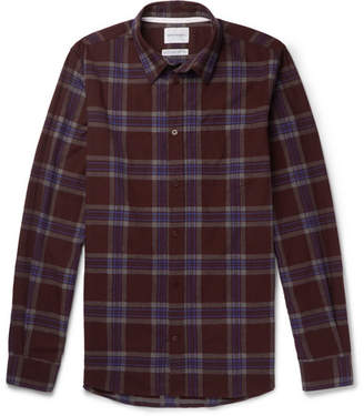 Norse Projects Osvald Slim-Fit Checked Cotton-Flannel Shirt