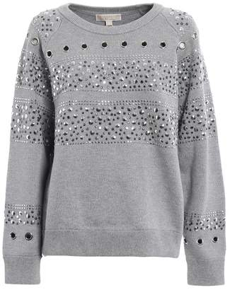 Michael Kors Studded Heavy Sweatshirt