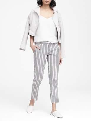 Banana Republic Avery Straight-Fit Linen-Cotton Pant