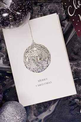Next 10 Pack Silver Bauble Cards