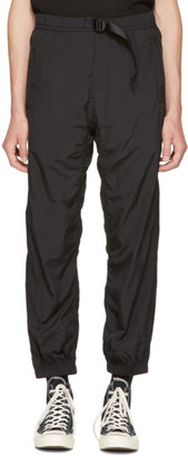 Alexander Wang Black Nylon Track Pants $350 thestylecure.com