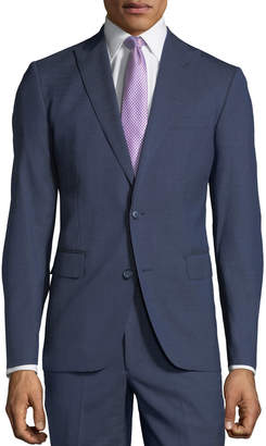 Neiman Marcus Men's Tick-Weave Two-Piece Suit