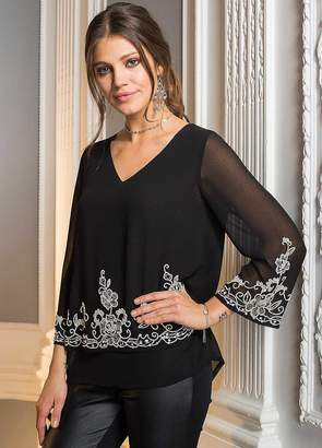 Together Beaded Hem Tunic