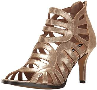 Michael Antonio Women's Lush-met Dress Sandal