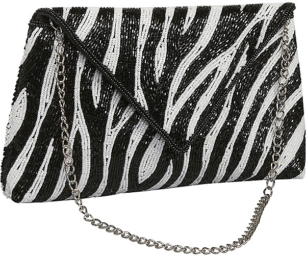 Inge Christopher Animal Print Envelope Flap