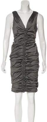 Donna Karan Sleeveless Midi Dress