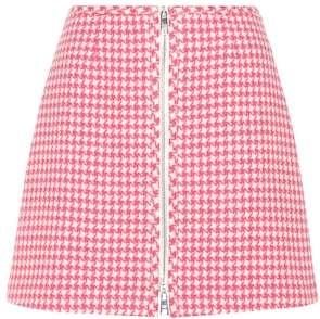 Prada Virgin wool miniskirt