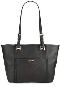 c520f2d84ef Calvin Klein Leather Bag Saffiano - ShopStyle