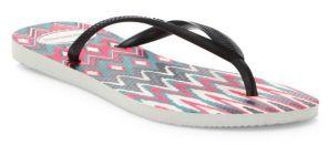 Havaianas Slim Geometric Flip Flops $30 thestylecure.com