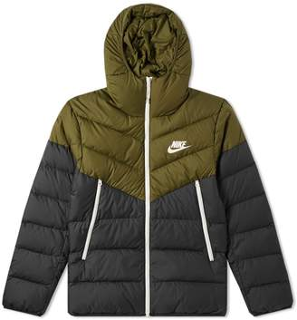 Nike Down Filled Hooded Windrunner Jacket