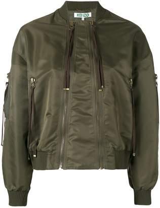 Kenzo elevated bomber jacket
