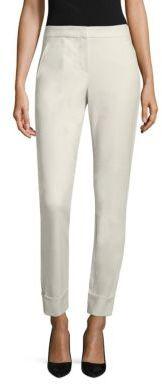 Armani Collezioni Tech Stretch Cotton Pants