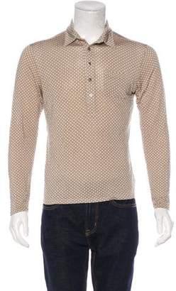 Paul & Joe Woven Polo Sweater