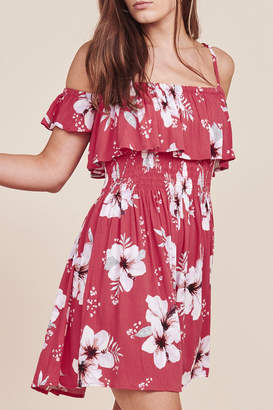 BB Dakota WINTERS FLORAL DRESS