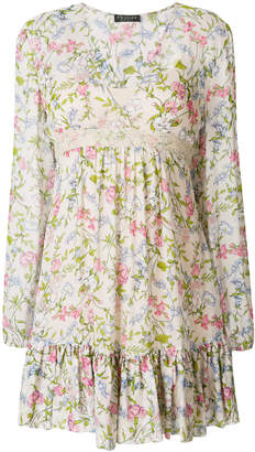 Twin-Set flared floral dress