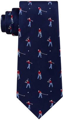 Club Room Men's Golfer Silk Tie, Created for Macy's