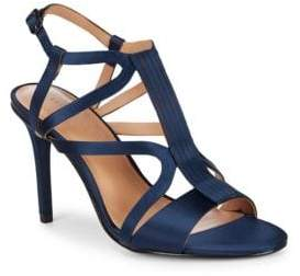 Halston Strappy Stiletto Sandals