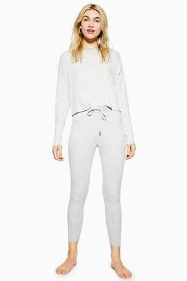 Topshop Womens Brushed Soft Stripe Lounge Joggers