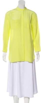Scanlan Theodore Long Sleeve Silk Tunic