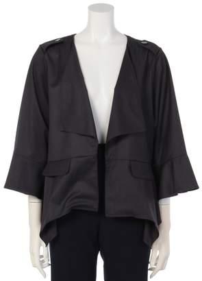 ファッションウォーカー アウトレット ストレッチギャバジンペプラムジャケット