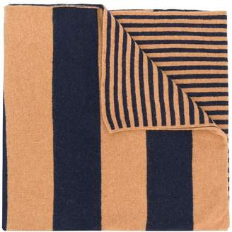 Dondup striped scarf