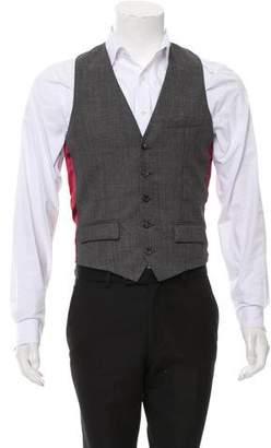 Alexander McQueen Wool Suit Vest