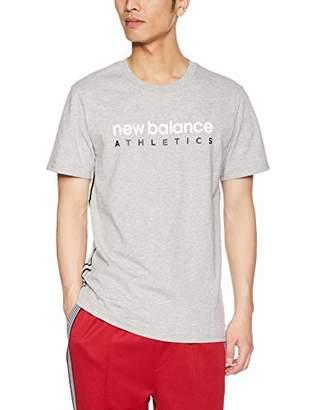 69f181e92d186 New Balance (ニュー バランス) - [ニューバランス] Tシャツ NBアスレチックサイドストライプ
