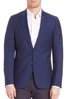 Paul Smith Two-Button Wool Blend Sportcoat