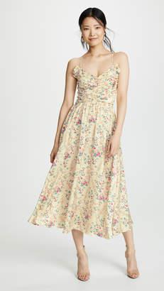 Jill Stuart Ruched Floral Dress