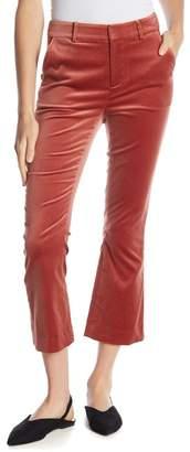 Frame Solid Velvet Pants