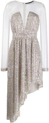 Christian Pellizzari sequin embellished dress
