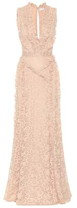 Altuzarra Sleeveless lace gown