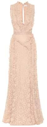 Altuzarra Sleeveless lace gown