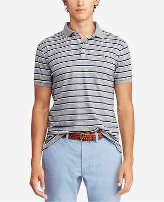Polo Ralph Lauren Men Striped Soft Touch Classic Fit Polo