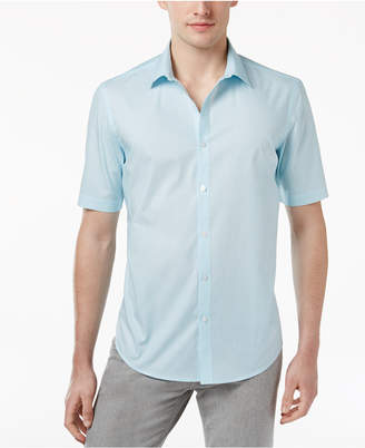 Alfani Big and Tall Bentley Geo Print Shirt, Only at Macy's $60 thestylecure.com
