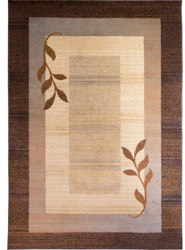Andover Mills Eugenia Brown/Beige Contemporary Area Rug Rug