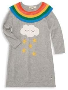 Little Girl's Grace Rainbow Frill Dress