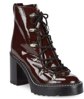 Rag & Bone Lace-Up Leather Booties