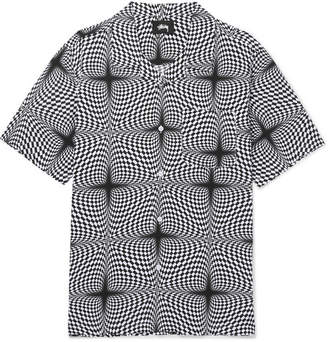 Stussy Camp-Collar Printed Woven Shirt