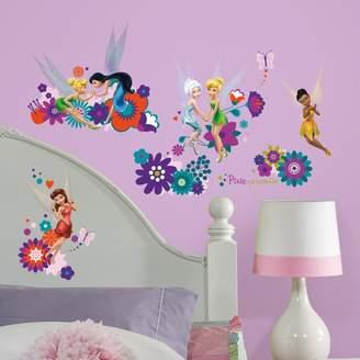 Roommates Disney Fairies Friends Peel & Stick Wall Decals